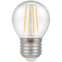 PICTURE OF LED ROUND FILAMENT CLEAR 4W 2700K ES E27 LAMP