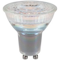 PICTURE OF LED GU10 GLASS SMD 5.5W DIMMABLE SUNSET DIMMABLE LAMP
