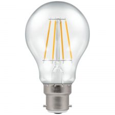 picture of led gls filament clear dimmable 5w 2700k BC B22d LAMP