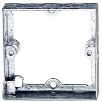 PICTURE OF 1GANG 25MM SOCKET EXTENSION BOX METAL FLUSH