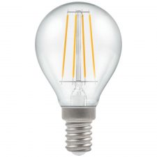PICTURE OF LED ROUND FILAMENT CLEAR DIMMABLE 5W 2700K SES E14 LAMP