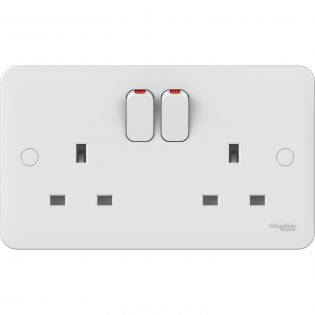 picture of schneider double socket