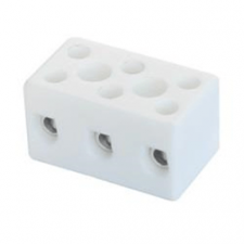 PICTURE OF 3WAY 15A PORCELAIN CONNECTORS