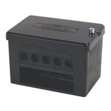 PICTURE OF 100A DOUBLE POLE CB6 CONNECTOR BLOCK