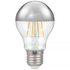 PICTURE OF LED GLS CROWN SILVER FILAMENT DIMMABLE 5W 2700K ES E27 LAMP