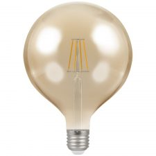 PICTURE OF LED GLOBE G125 FILAMENT ANTIQUE DIMMABLE 7.5W 2200K ES E27 LAMP