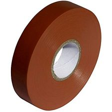 PVC ELECTRICAL INSULATING TAPE 19MMX20M BROWN