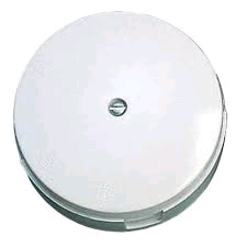 PICTURE OF BG ELECTRICAL 603W WHITE 3 WAY 30A JUNTION BOX 89MM DIAMETER