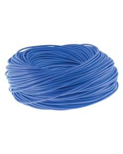 PICTURE OF 6MM PVC BLUE CABLE SLEEVING