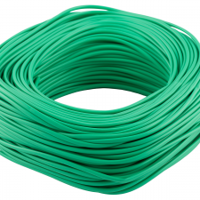 picture of 2mm pvc green sleeving