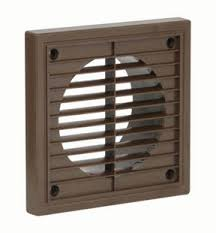 "picture of 4"" brown fixed grille"