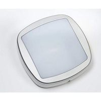 PICTURE OF BRACKENHEATH I6020W 20W IP54 iSPOT REVOLUTION WHITE ALUMINIUM BULKHEAD