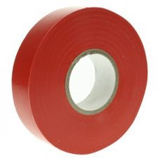 PICTURE OF PVC ELECTRICAL INSULATING TAPE 19MMX20M RED