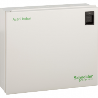PICTURE OF SCHNEIDER ELECTRIC ACTI 9 SEA9AN10 10WAY SPN DISTRIBUTION BOARD