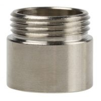 picture of pg13.5 to m20 brass nickel plated adaptor