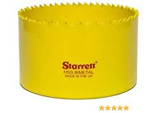 STARRETT SH0438 111MM BI-METAL HOLESAW