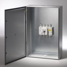 PICTURE OF EUROPA LB5003PSNME 500A 3 POLE IP65 METAL ENCLOSED SWITCH DISCONNECTOR + SW NEUTRAL