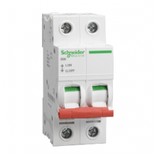 PICTURE OF SCHNEIDER ACTI9 SEA91252 125A 2 POLE SWITCH DISCONNECTOR