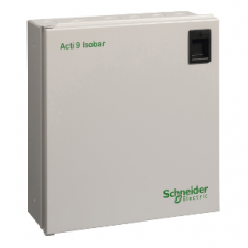 PICTURE OF SCHNEIDER ACTI 9 SEA9AN10 10 WAY SPN DISTRIBUTION BOARD