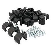 picture of swa56 BLACK CABLE CLIPS FOR STEEL WIRE ARMOUR