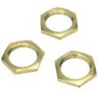 picture of 75mm brass locknut