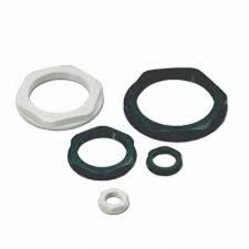 PICTURE OF 25MM WHITE PVC LOCK NUT