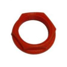 PICTURE OF 20MM RED PVC LOCKNUT