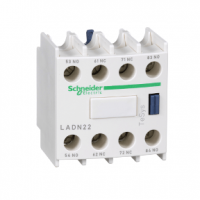 PICTURE OF SCHNEIDER LADN22 AUXILIARY CONTACT BLOCK 2 NO + 2 NC