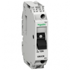 PICTURE OF SCHNEIDER GB2CB16 10A 1P THERMAL MAGNETIC CIRCUIT BREAKER
