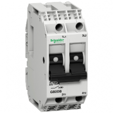 PICTURE OF SCHNEIDER GB2DB22 20A 2P THERMAL MAGNETIC CIRCUIT BREAKER