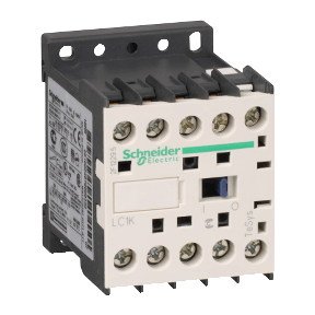 PICTURE OF SCHNEIDER ELECTRIC TESYS K LC1K1210U7 5.5KW 12A 240VAC 3P+1 NO CONTACTOR