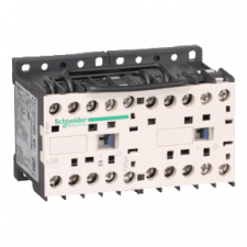 PICTURE OF SCHNEIDER LC2K1201U7 5.5KW 12A 240VAC 3 POLE REVERSING CONTACTOR