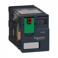 PICTURE OF SCHNEIDER 14 PIN MINIATURE PLUG IN RELAY 4 C/O 230VAC 6A