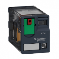 PICTURE OF SCHNEIDER RXM2AB2F7 8 PIN MINIATURE PLUG IN RELAY 2 C/O 120VAC 12A