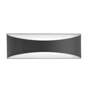INTEGRAL WAVE UP/DOWN OUTDOOR LIGHT